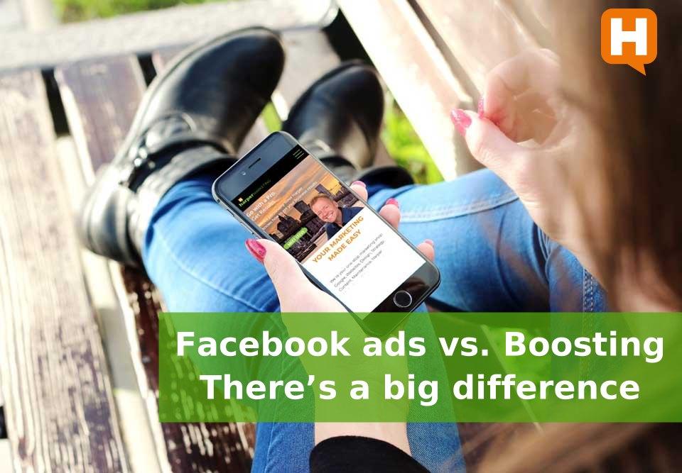 FB ads Vs Boosting