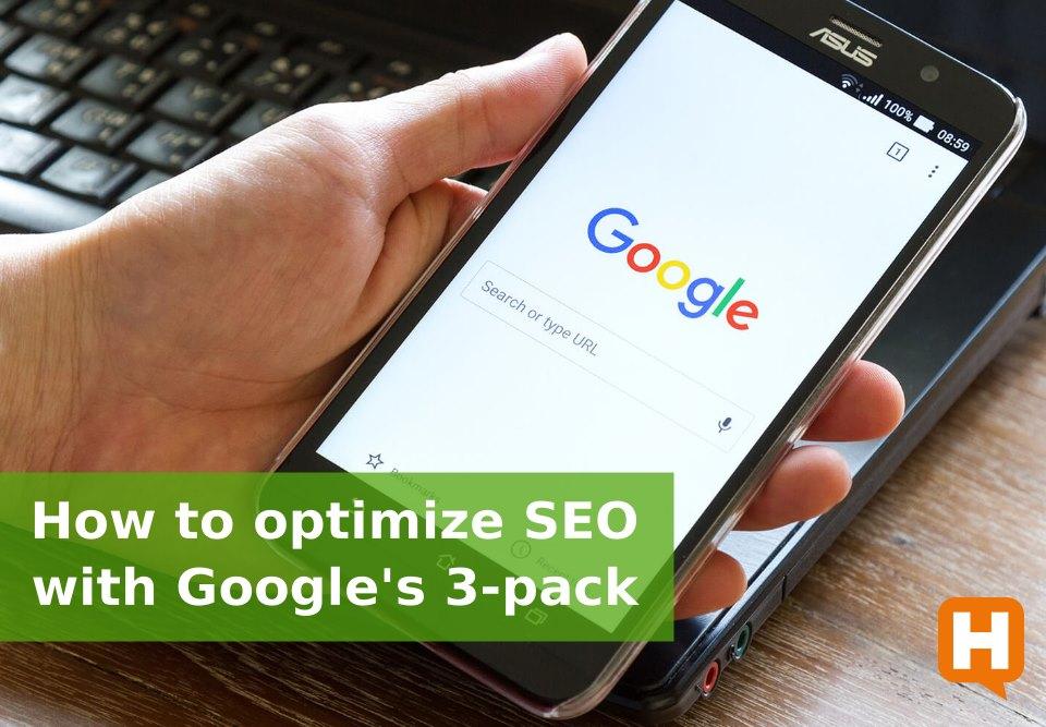 Optimizing Google's 3-pack